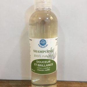 """Shampoing """"Douceur et Brillance"""" au Laurier noble"""